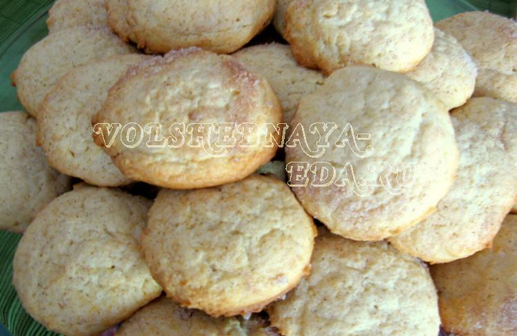 рецепты сметанкового печенья