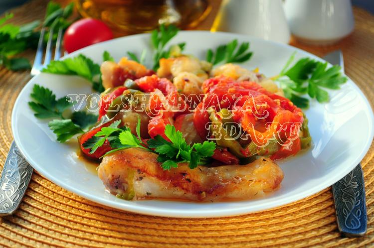 Рыба с овощами в мультиварке рецепт с фото
