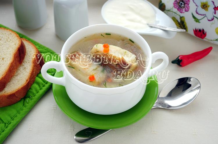 Рыбный суп в мультиварке с рисом и овощами рецепт с фото