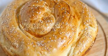 Пирог с брынзой тутманик рецепт с фото