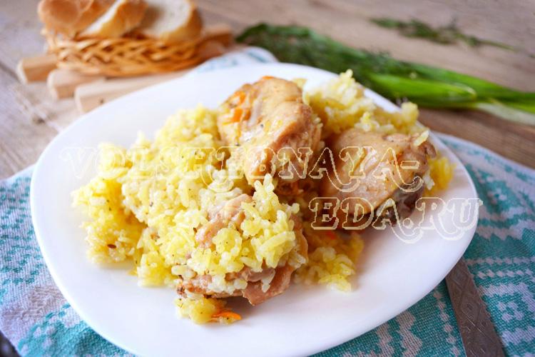 Плов узбекский на сковороде рецепт