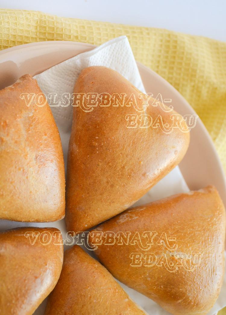 Пирожки бездрожжевые с картошкой