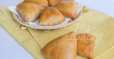 Пирожки с картошкой рецепт с фото
