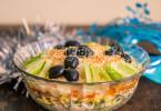 Слоеный салат с тунцом рецепт с фото