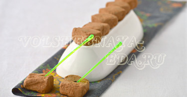 Шоколадные трюфели с ромом и чили