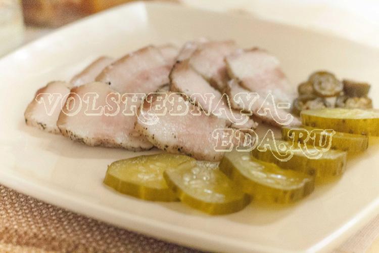 Вареное сало рецепт с фото