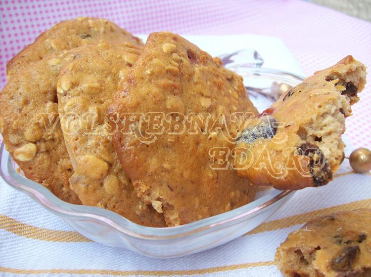 Печенье из мюсли рецепт с фото