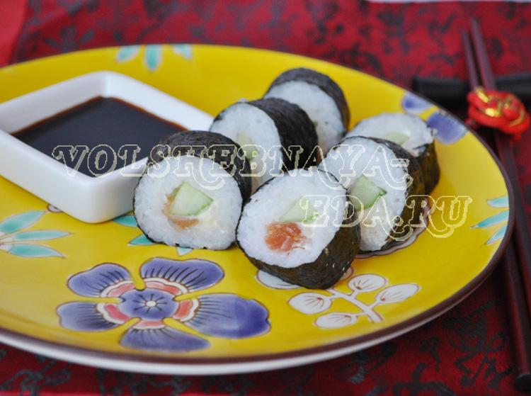 Домашний рецепт суши роллы в домашних условиях 45