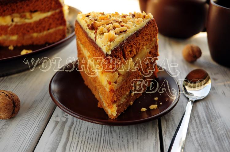 Торт в мультиварке с медом рецепты с фото