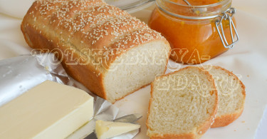 Пшеничный хлеб-кирпичик