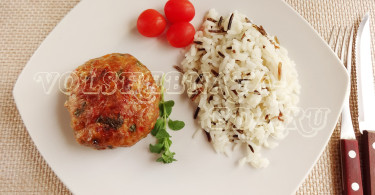 Котлеты из индейки рецепт с овощами