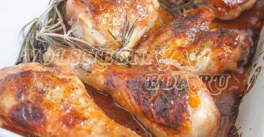 Курица в медово-горчичном соусе