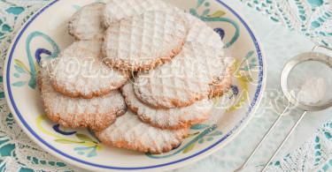 Классическое песочное печенье рецепт с фото