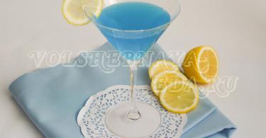 Коктейль Марини Голубая луна