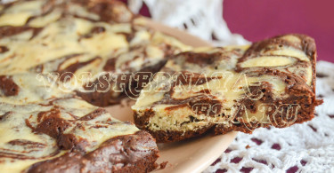 Пирожное брауни рецепт с фото