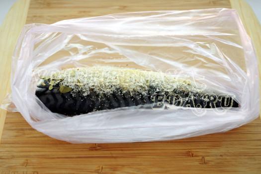Засолить скумбрию в домашних условиях рецепт сухой