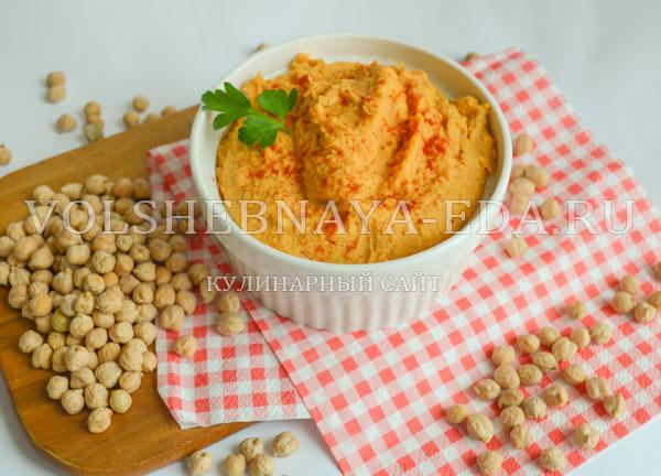 Как приготовить хумус из нута