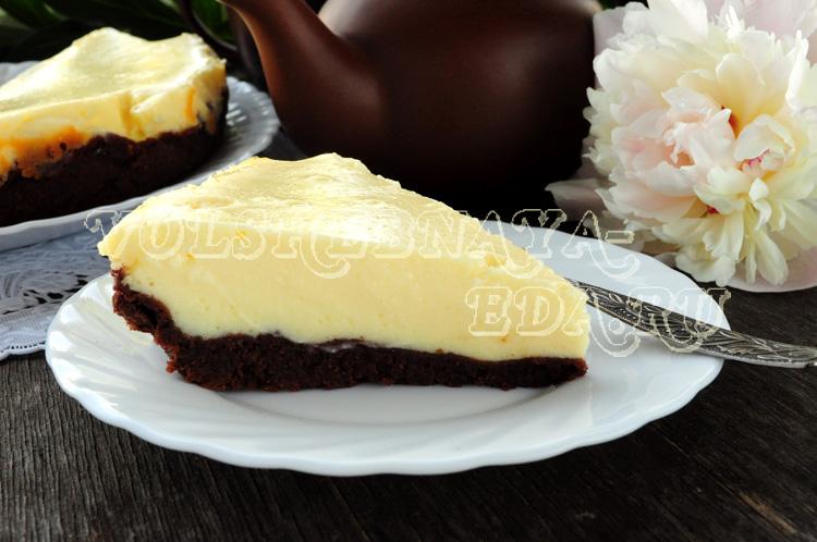 Творожный пирог в мультиварке рецепт с фото