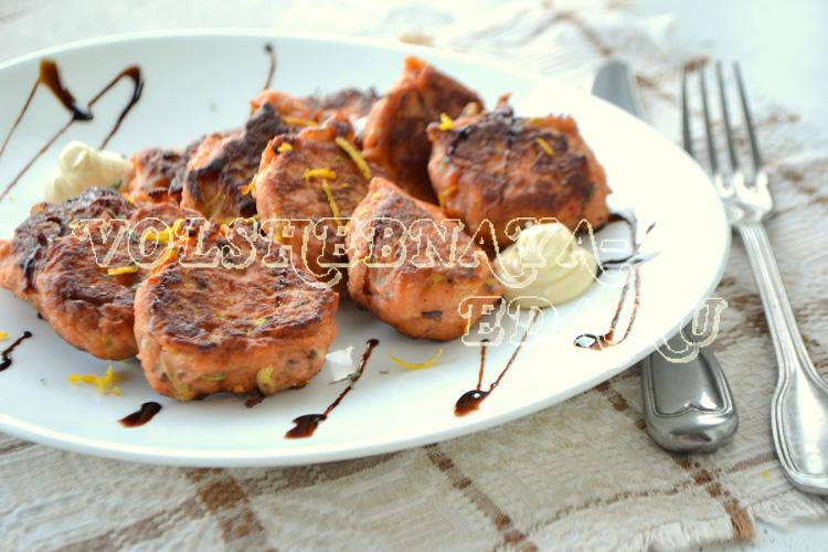 ыбно-овощные котлеты рецепт с фото
