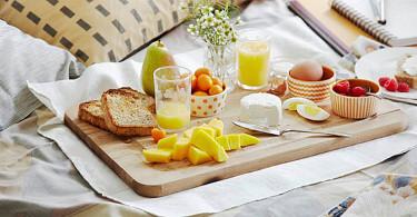 Завтрак в постель - секреты и идеи