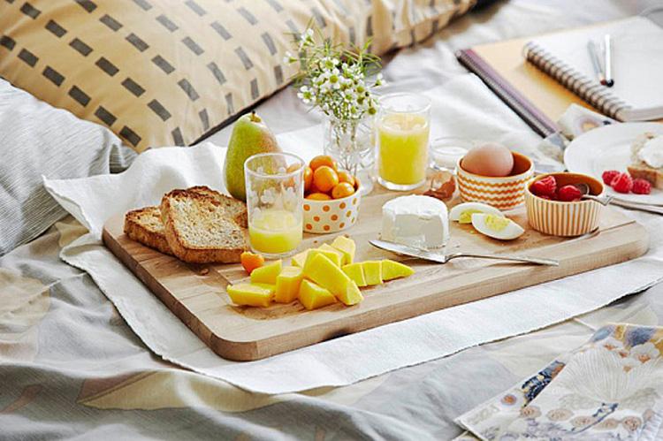 Завтрак на годовщину свадьбы