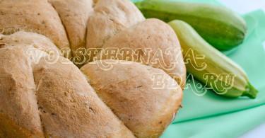 Кабачковый хлеб рецепт с фото