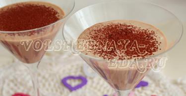 """Шоколадно-мятный коктейль с ликером """"Бейлис"""""""