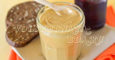 Рецепт арахисовой пасты с фото