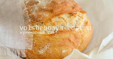 Цельнозерновой хлеб с картофельным пюре