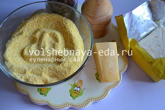 рецепт каши из кукурузных хлопьев