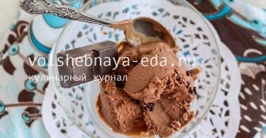 Шоколадное мороженое с Эрл Грей