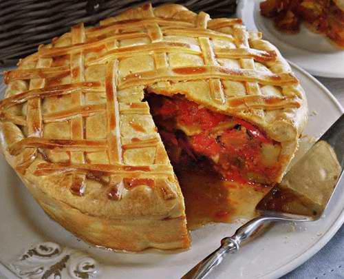 Пирог-рататуй