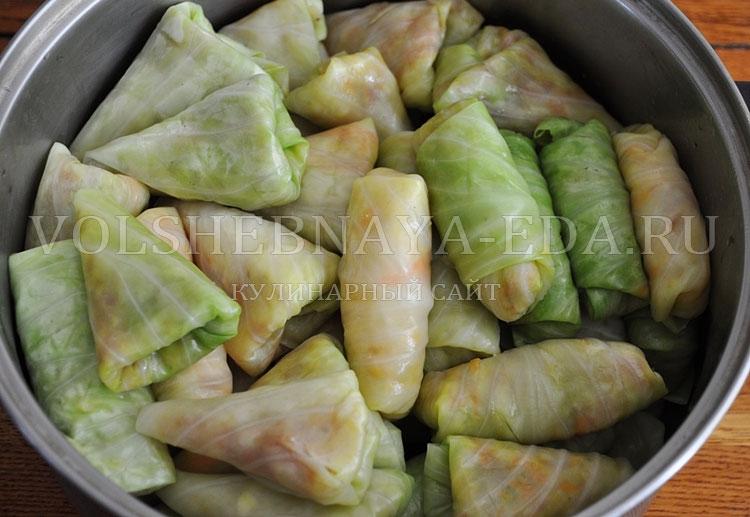 Голубцы по азербайджански рецепт пошагово