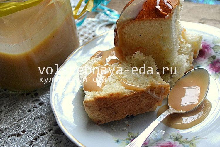Сгущенка домашняя рецепт с пошагово в