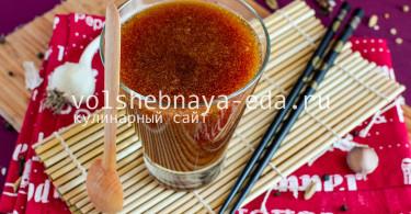 Рецепт соуса Терияки