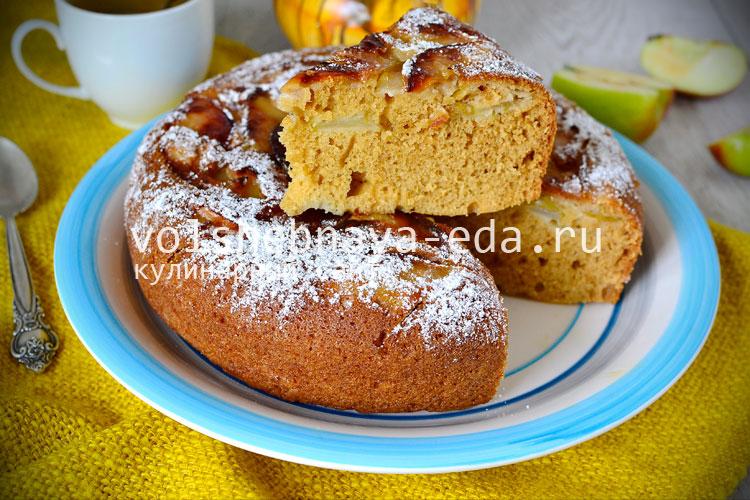 легкий пирог в мультиварке рецепты с фото