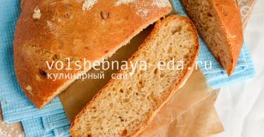 Хлеб с луком и сыром