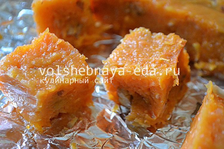 Лукум рецепт в домашних условиях из моркови
