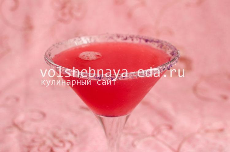 """Коктейль """"Розовая пантера"""" рецепт с фото"""