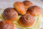 Булочки с плавленным сыром
