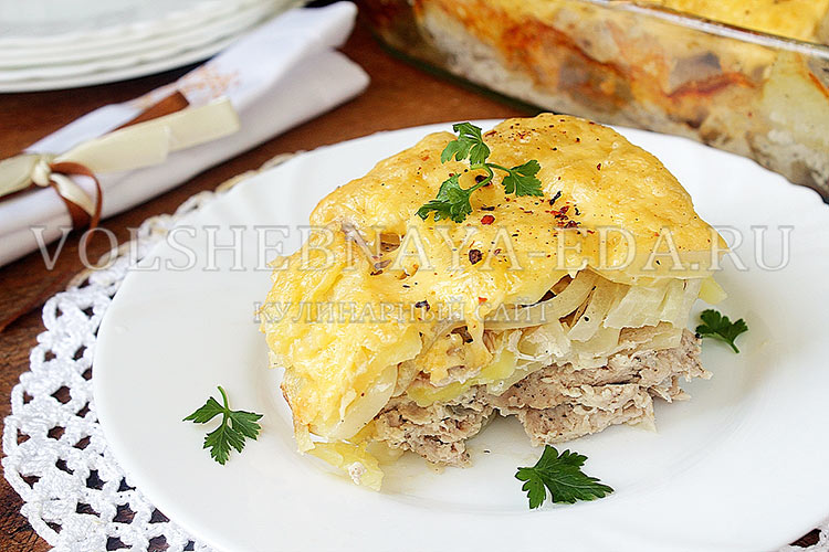 рецепт картошки по-французски