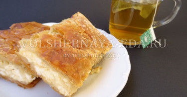 Тиропита греческий сырный пирог