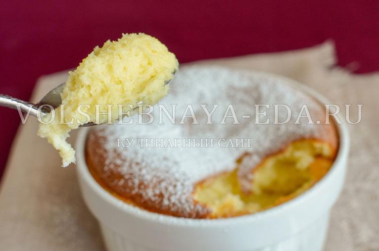 рецепты суфле сладкие