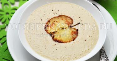 рецепт супа из яблок