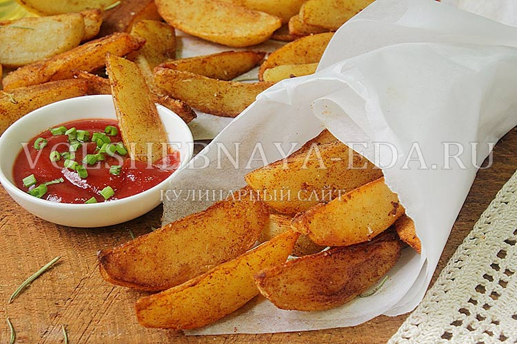 Рецепт картошки по деревенски