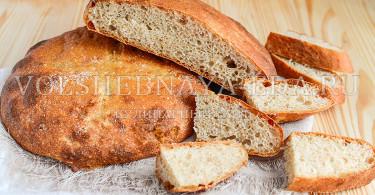 Хлеб из творожного теста