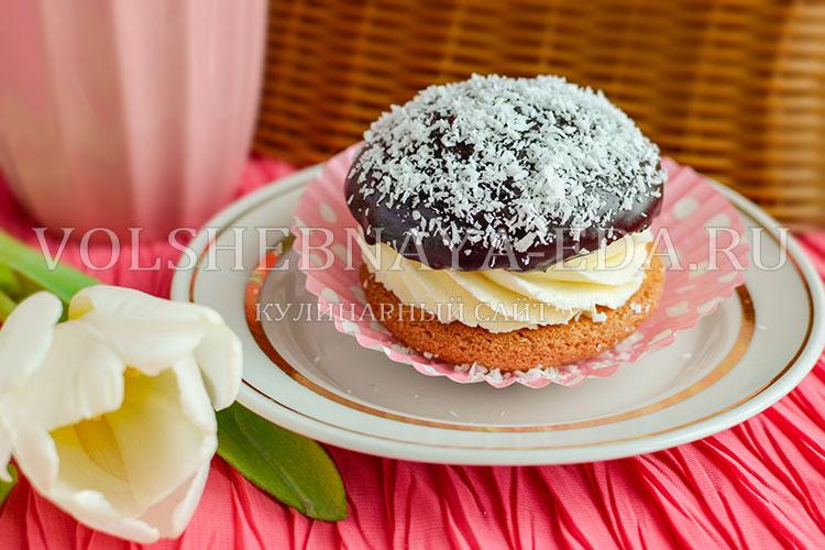 Пирожное - Буше - рецепт с фото, Волшебная