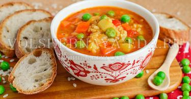 рецепт постного супа с рисом
