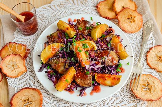salat-iz-pecheni-s-malinovym-sousom-13