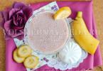смузи из зефира и фруктов
